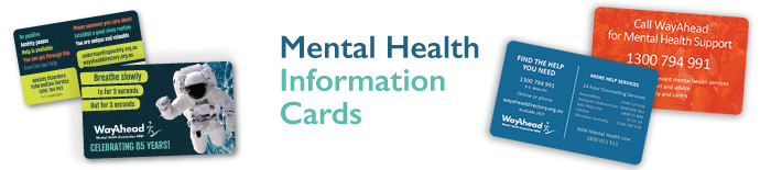 Free mental health assistance pocket cards | WayAhead